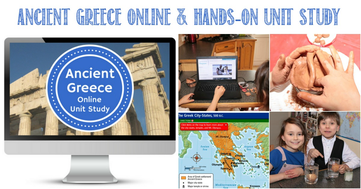 Ancient Greece Online Unit Study Review by Castle View Academy