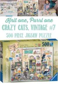Crazy Cats Puzzle Reviewed by Castle View Academy homeschool