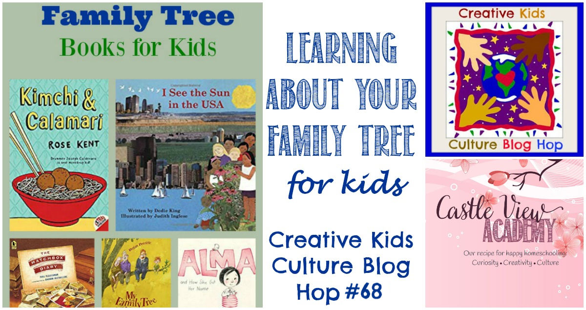 Family Tree Books For Kids CKCBH at Castle View Academy