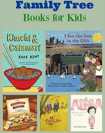 Family Tree Books for Kids