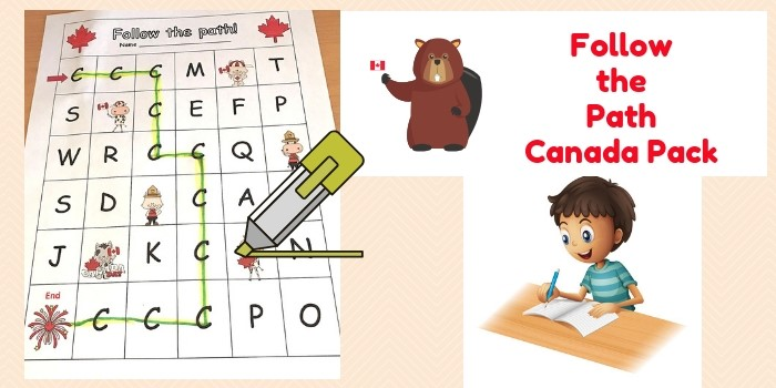 Follow The Path K-1 Canada Activity Pack