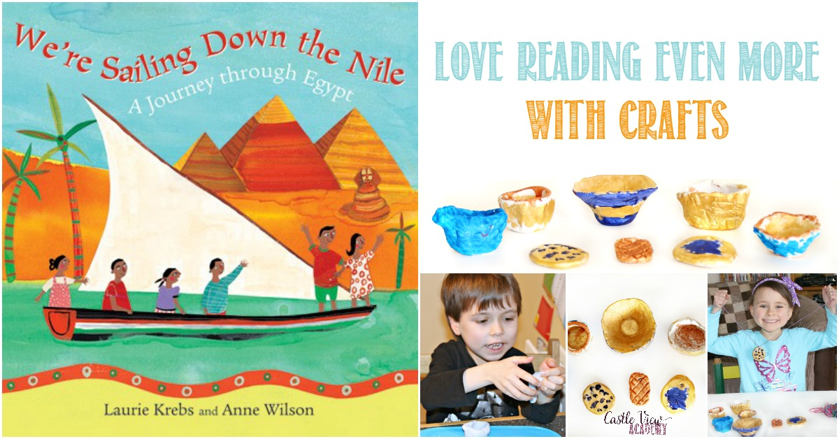 Love Reading even more with crafts! Fun extension ideas for We're Sailing Down The Nile with Castle View Academy