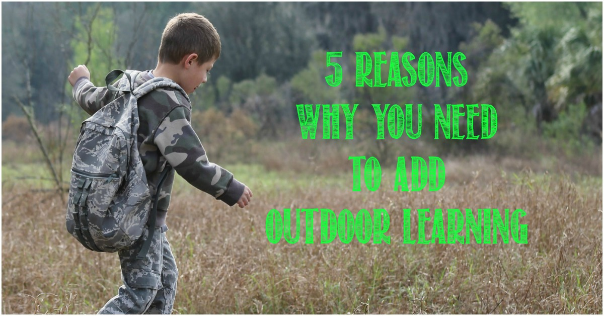 Reasons Why You Need to Add Outdoor Learning