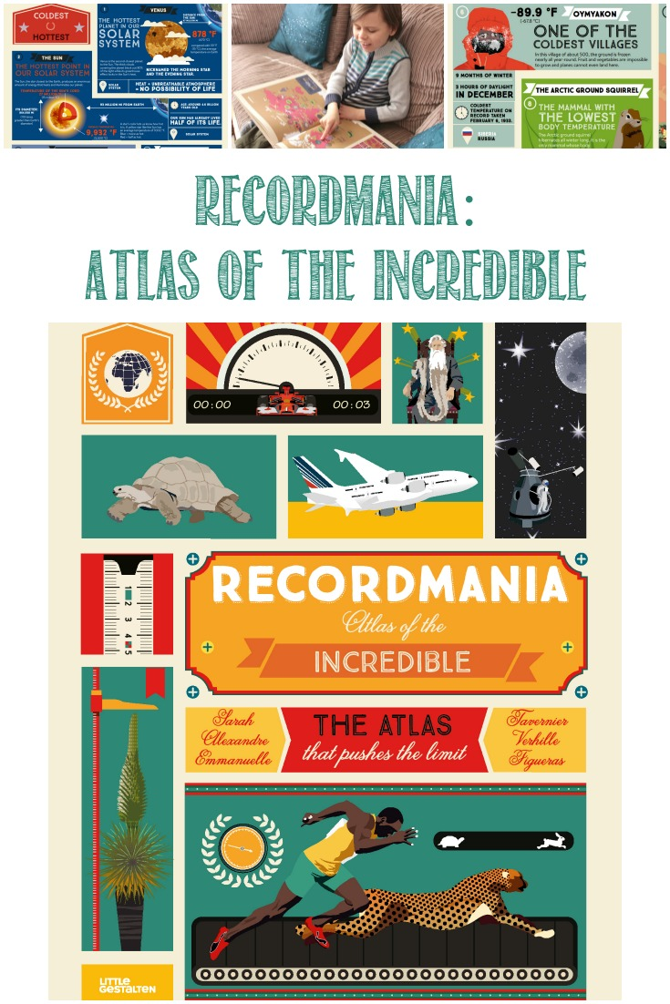Recordmania, Atlas of the Incredible, reviewed by Castle View Academy homeschool