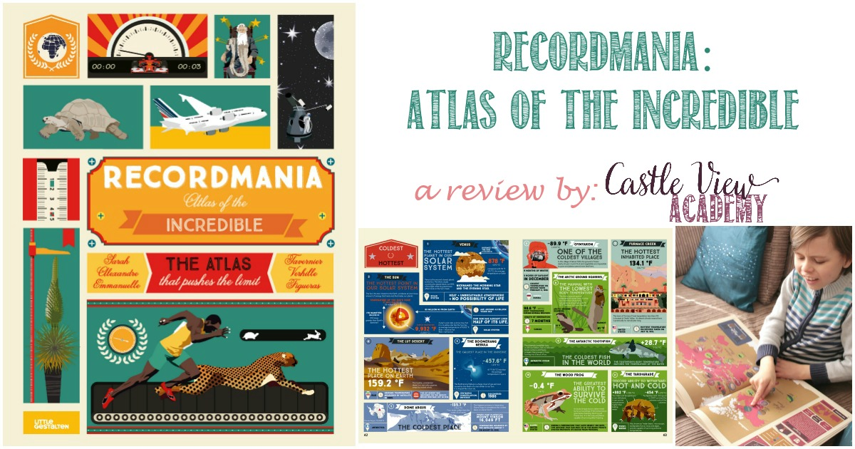 Recordmania, Atlas of the Incredible, reviewed by Castle View Academy