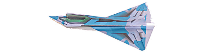 Spy plane origami