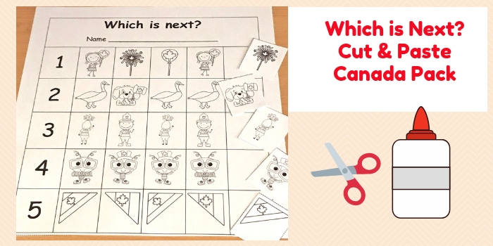 Which is Next Cut and Paste Canada Pack for k-1