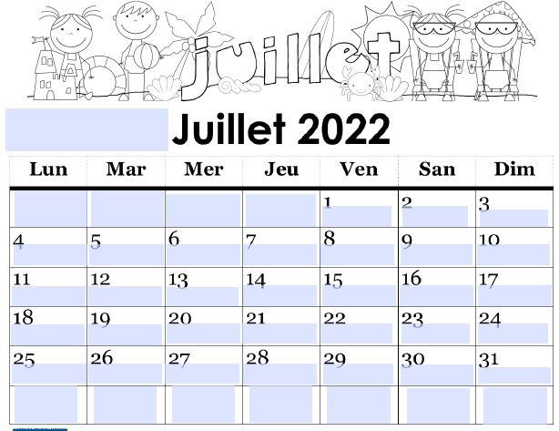 julliet 2022