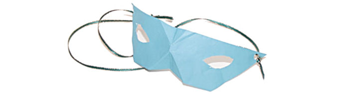 origami masquerade mask at Castle View Academy homeschool