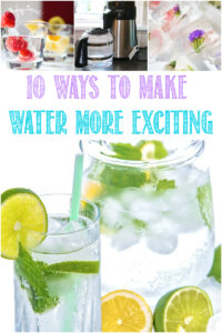 10 Ways To Make Water More Exciting with Castle View Academy homeschool