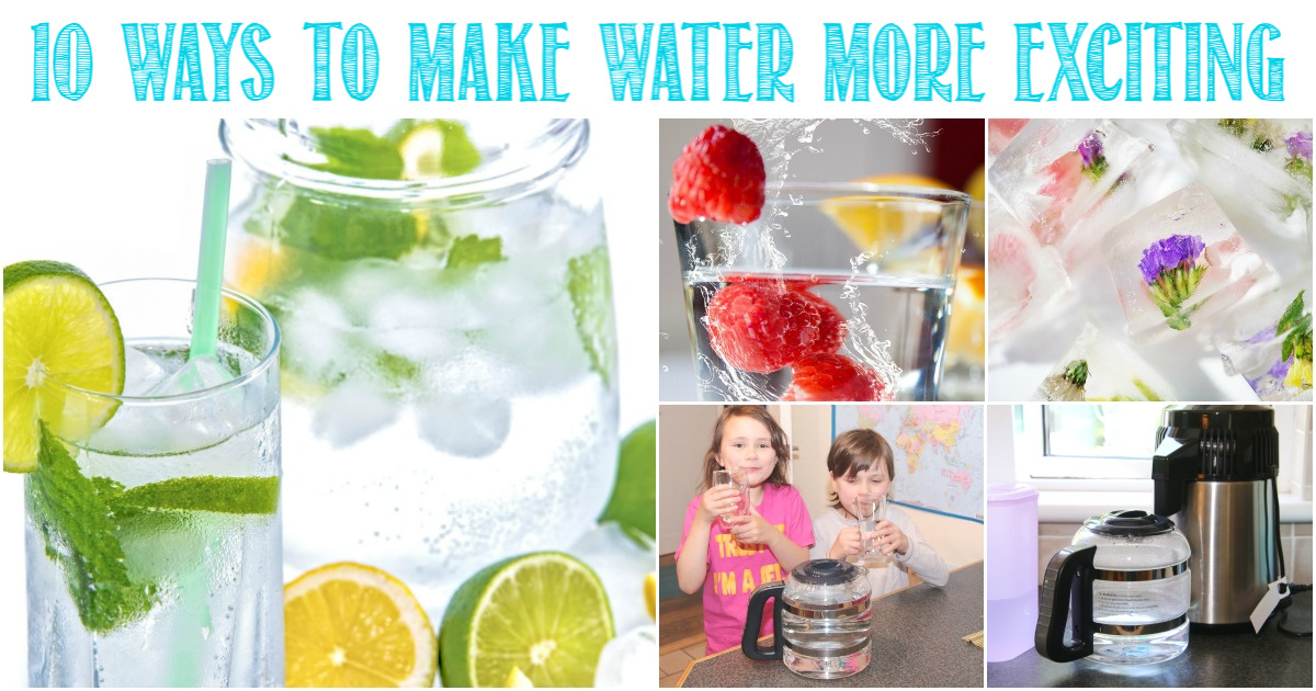 10 Ways To Make Water More Exciting with Castle View Academy