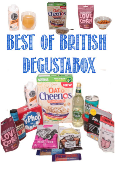 Best of British Degustabox reviewed by Castle View Academy homeschool