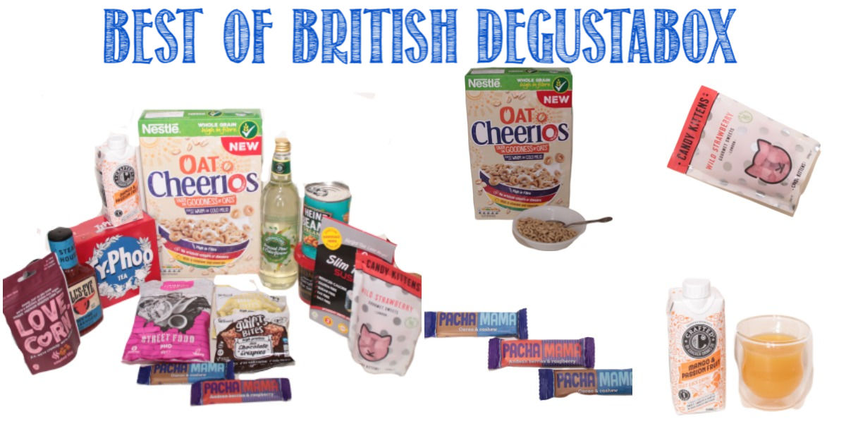Best of British Degustabox reviewed by Castle View Academy