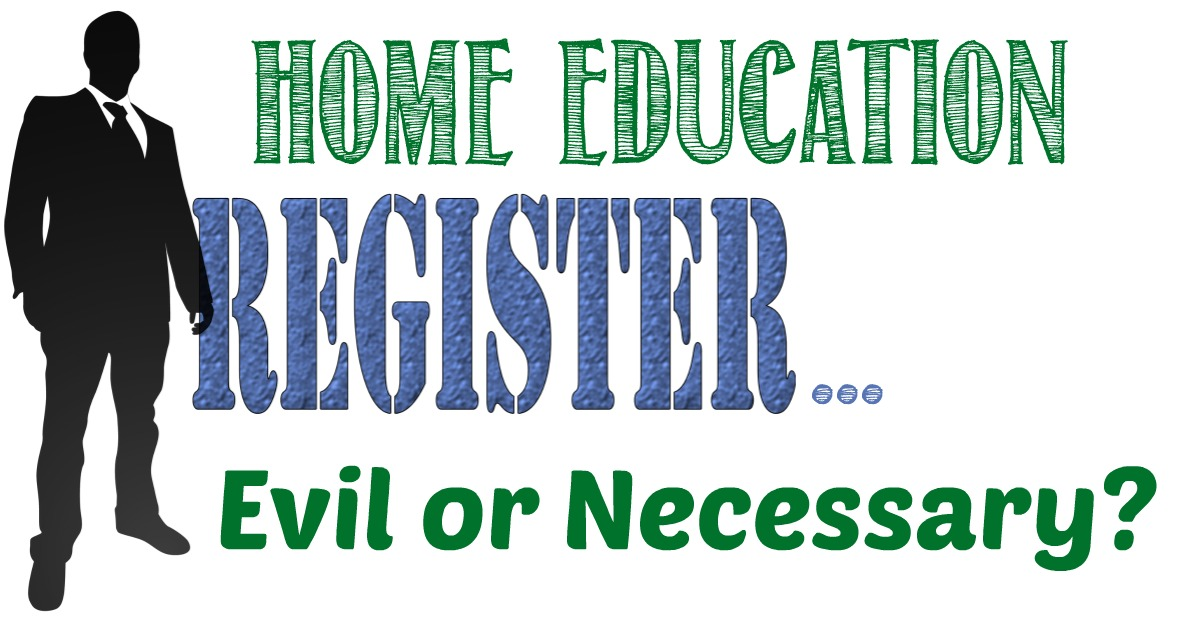 Home Education Registers - Evil or Necessary, Opinion by Castle View Academy