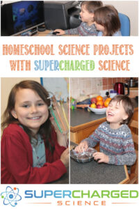 Homeschool Science Projects With Supercharged Science, a review by Castle View Academy homeschool