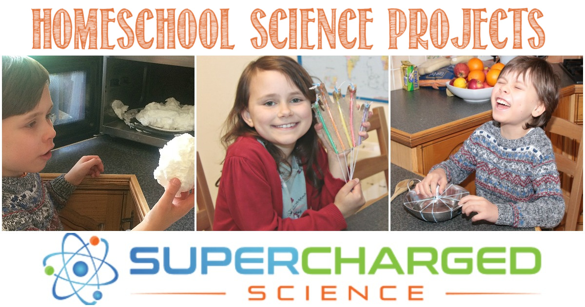 Homeschool Science Projects With Supercharged Science, a review by Castle View Academy