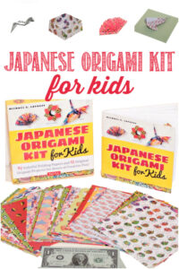 Japanese Origami Kit For Kids reviewed by Castle View Academy homeschool