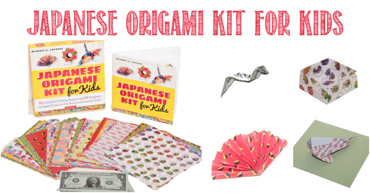 Japanese Origami Kit For Kids reviewed by Castle View Academy