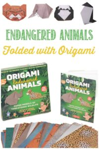 Origami Endangered Animals reviewed by Castle View Academy homeschool