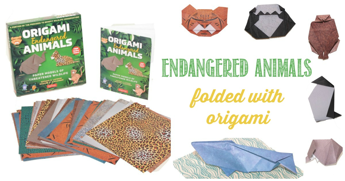 Origami Endangered Animals reviewed by Castle View Academy