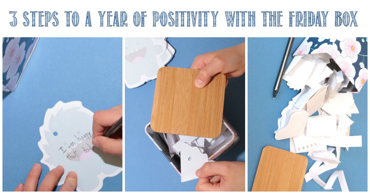 3 Steps To a Year of Positivity With The Friday Box