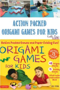 Castle View Academy homeschool reviews Origam Games For Kids
