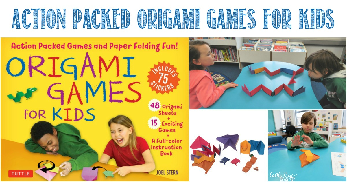 Castle View Academy reviews Origam Games For Kids