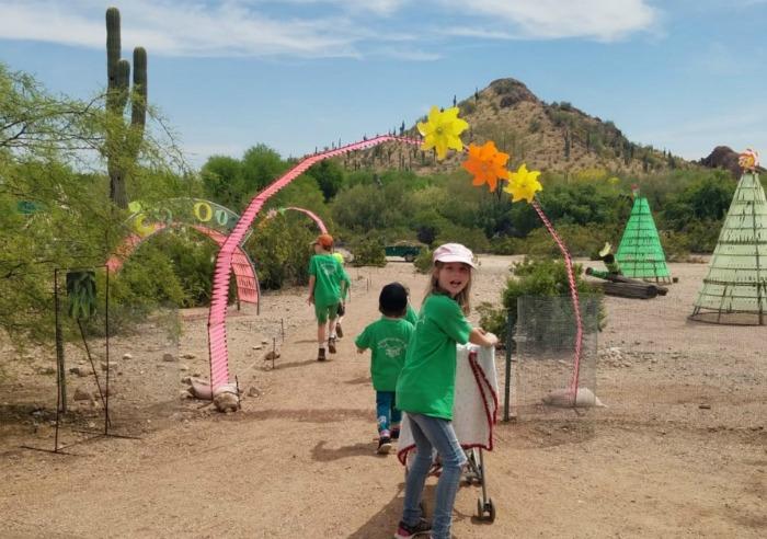 Hess Un-Academy at Desert Botanical Garden Phoenix