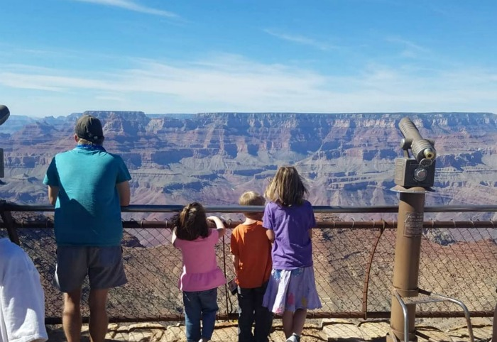 Hess Un-Academy homeschool at the Grand Canyon