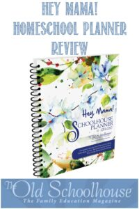 Hey Mama! Homeschool Planner Review by Castle View Academy