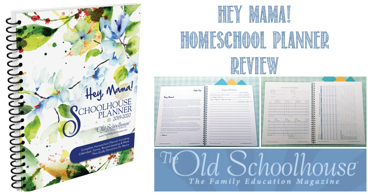 Hey Mama! Homeschool Planner Review by Castle View Academy homeschool