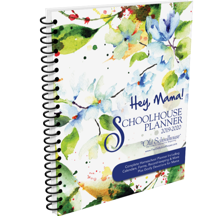 Hey Mama! Schoolhouse Planner cover