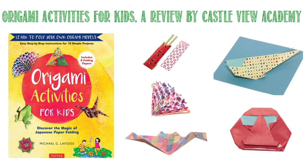 Origami Activities For Kids reviewed by Castle View Academy