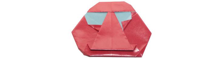 Origami Daruma Doll