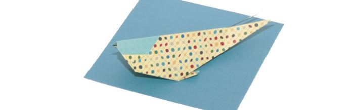 Origami Japanese Carp