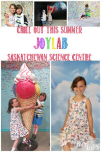 Castle View Academy Homeschool visits JoyLab at the Saskatchewan Science Centre
