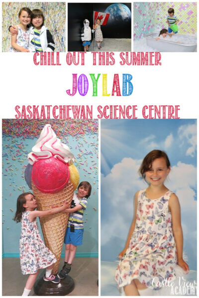 Castle View Academy Homeschool visits JoyLab at the Saskatchewan Science Centre