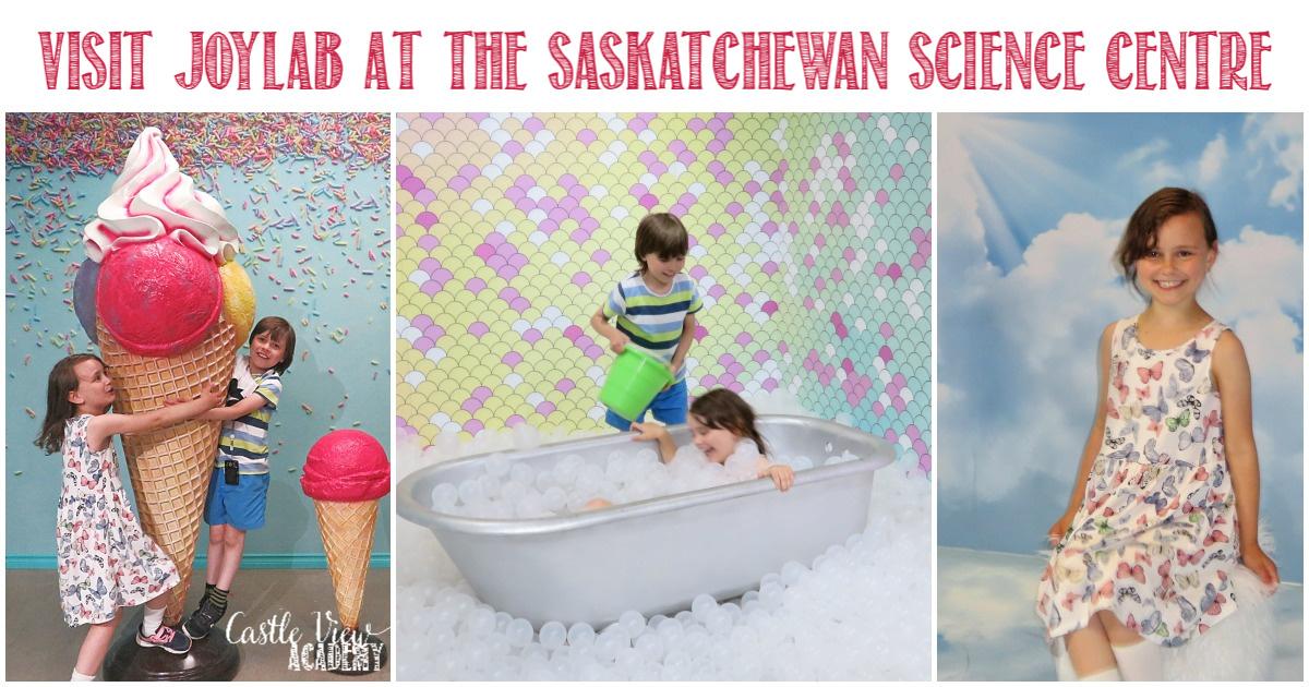 Castle View Academy visits JoyLab at the Saskatchewan Science Centre