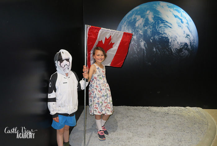 First Canadians on the Moon