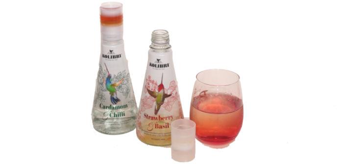 Kolibri botanical Drinks - Strawberry & Basil plus Cardamom & Chilli