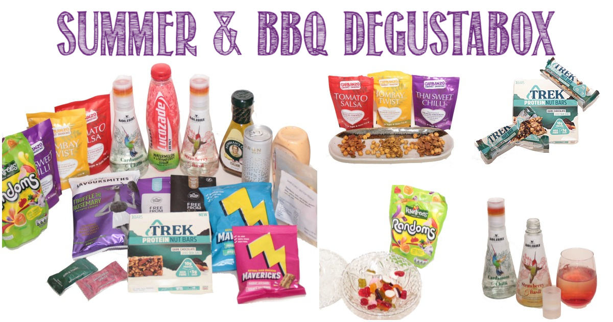 Summer & BBQ Degustabox Reviewed by Castle View Academy