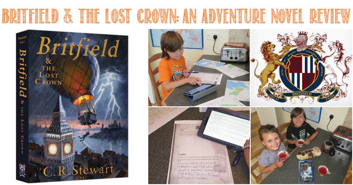 Britfield & the Lost Crown, an Adventure Novel Review by Castle View Academy