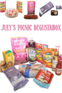 July's Picnic Degustabox reviewed by Castle View Academy homeschool