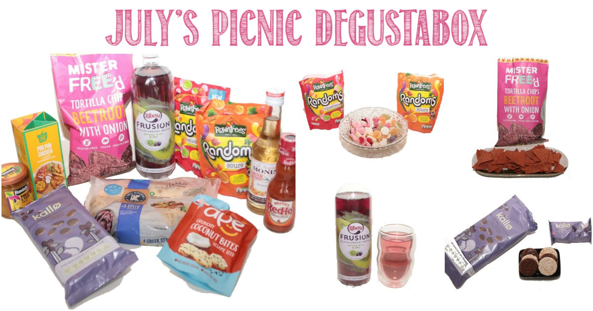 July's Picnic Degustabox reviewed by Castle View Academy