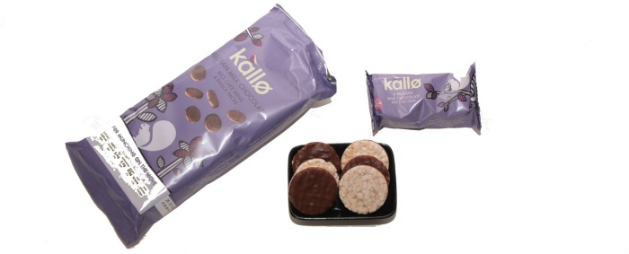 Kallo chocolate rice cake minis