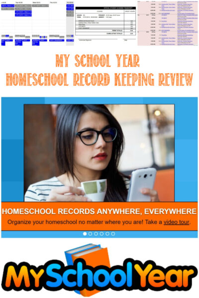 My School Year Homeschool Record Keeping Review by Castle View Academy Homeschool