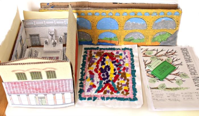 Ancient acRome Unit Study projects