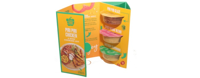 Simply cook Piri Piri 3 Step Meal Kit