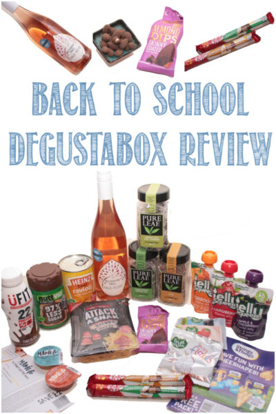 Back to school Degustabox review