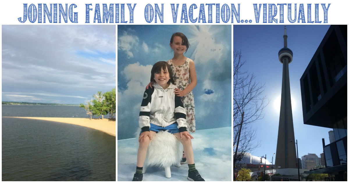 Joining Family on Vacation Virtually, a how-to with Castle View Academy homeschool